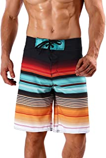 Men's Stripe Boardshort