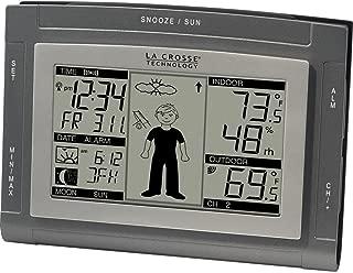La Crosse Technology Wireless Weather Station Alarm Clock