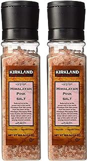 Kirkland Signature Himalayan Pink Salt, 13 Ounce (Pack of 2 )