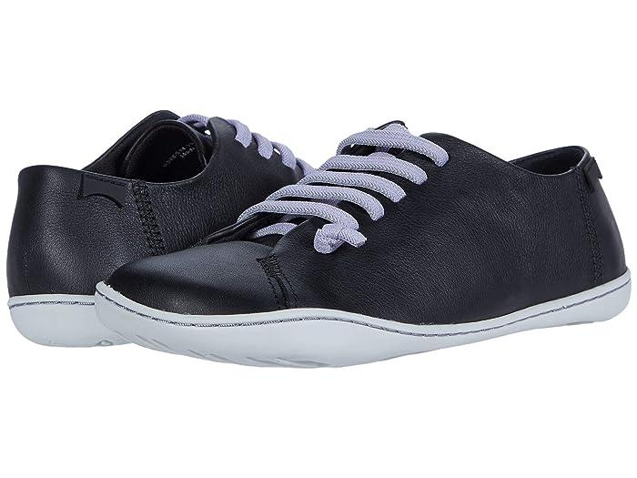 Camper  Peu Cami (Black) Womens Flat Shoes
