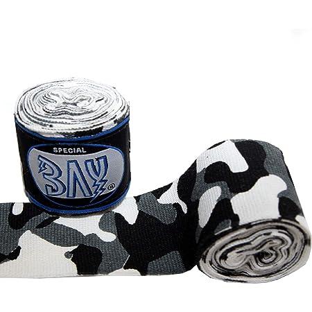 BAY® 8 Farben 3,5 m 4,5 Meter 2,5 Box-Bandagen BOXBANDAGEN Handbandagen Hand neu