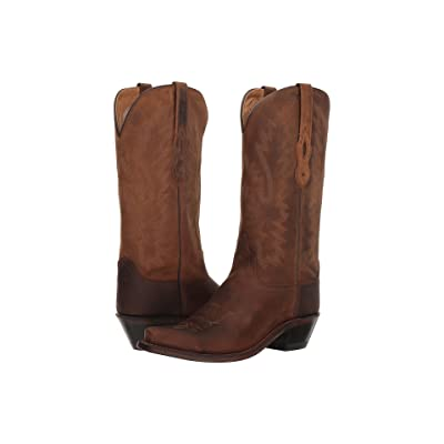 Old West Boots Taos (Brown Apache) Cowboy Boots