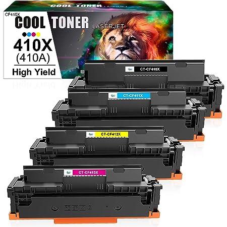 Cool Toner Kompatibel Tonerkartusche Replacement Für Hp 410x 410a Für Hp Color Laserjet Pro Mfp M477fdw M477fdn M377dw M477fnw M452dn M452dw M452nw M477 M452 M377 Cf410x Cf411x Cf412x Cf413x 4 Pack Amazon De