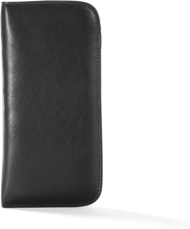 Leatherology Black Onyx Soft Eyeglass Case