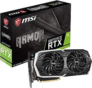 MSI GeForce RTX 2070 ARMOR 8G グラフィックスボード ブラック VD6761
