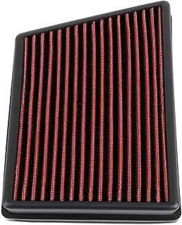 DNA MOTORING AFPN 212 RD Luftfilter mit hohem Durchfluss, waschbar, für Ford Ecosport, 18 20, Rot