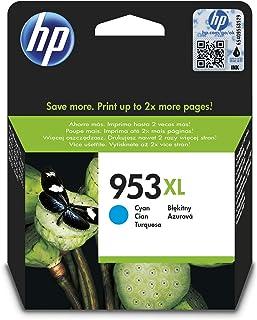 HP 953XL Cyan Original Ink Advantage Cartridge - F6U16AE