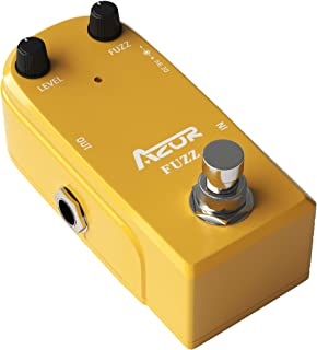 AZOR Vintage Fuzz Guitar Effect Pedal with True Bypass...