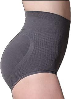 AtlasE Grey, X-Large - Women Shapewear Butt Lifter Shaper Middle Waist Slimming Panties Body Shaper Tummy Control