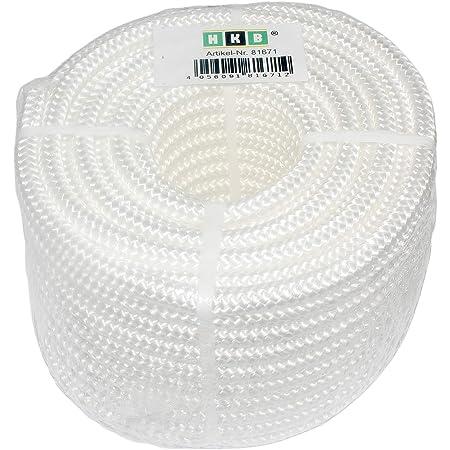Polypropylen-Geflecht 32-fach geflochten Ø14mm weiß