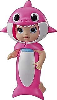 Boneca Baby Alive Baby Shark Loira - E8594 - Hasbro Baby Alive Boneca Baby Alive Baby Shark Loira Rosa/azul E Bege.