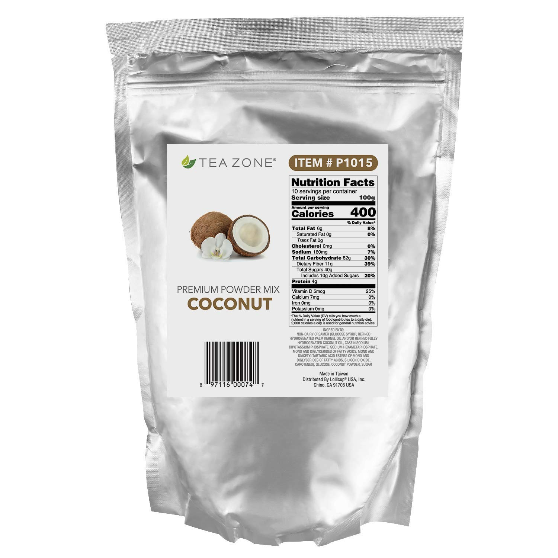 Tea Zone low-pricing Louisville-Jefferson County Mall 2.2 Coconut lb Powder