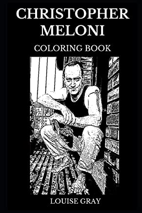 Christopher Meloni Coloring Book: Legendary Law and Order and Famous Oz Star, Acclaimed Hollywood Actor and Iconic Producer Inspired Adult Coloring Book