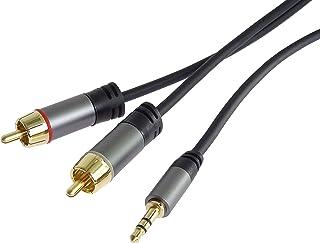 Femelle//Femelle SEBSON Adaptateur Jack 3.5mm St/ér/éo Connecteur//Adaptateur AUX pour c/âble Audio Prise Jack