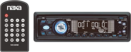 Naxa NX-649 Car Audio In Dash 350 Watt CD MP3 Player AM FM Stereo Aux