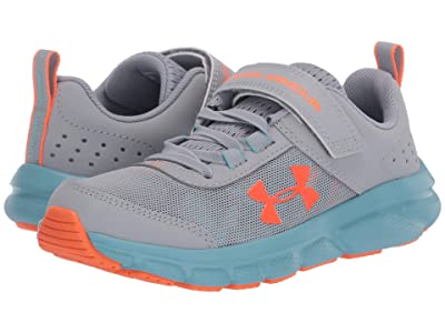 Under Armour Kids UA Assert 8 AC (Little Kid) (Blue Haze/Yellow Haze/Orange Spark) Girls Shoes