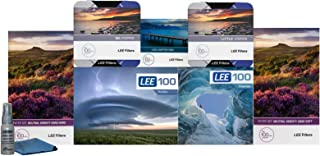 LEE Filters LEE100 77mm Ultimate Kit - LEE100 Filter Holder, LEE 100mm Hard Edge and Soft Edge Grad ND Filter Sets, LEE 100mm Big and Little Stoppers, LEE100 Polarizer and 77mm Wide Angle Ring