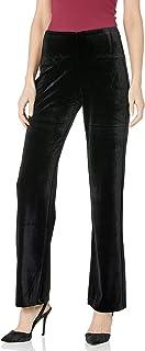 Lyssé womens Velvet Wide Leg Pant Pants