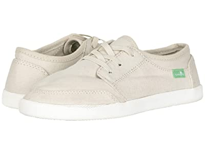Sanuk Kids Lil Vagabond Lace Sneaker (Little Kid/Big Kid) (Natural) Kid
