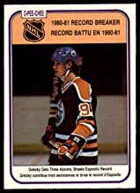 Hockey NHL 1981-82 O-Pee-Chee #392 Wayne Gretzky RB NM-MT Oilers