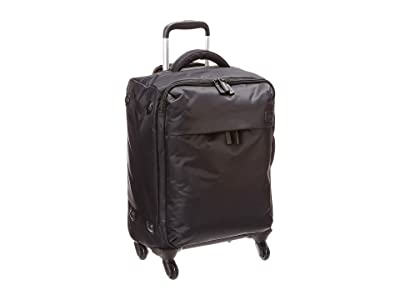 Lipault Paris Original Plume 22 Spinner Carry On (Black) Carry on Luggage