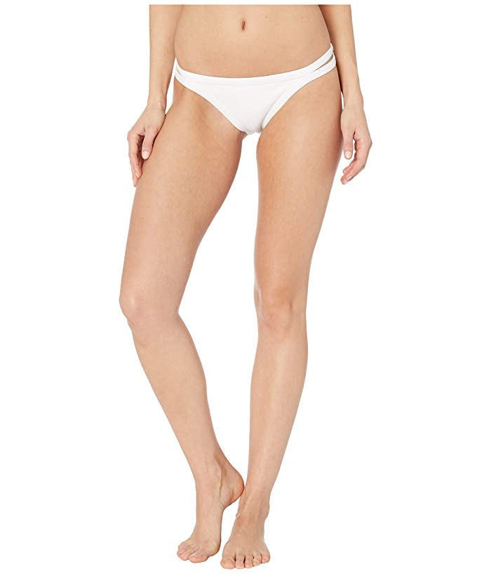 Roxy Color My Life Regular Fit Swimsuit Bottoms (Bright White) Women