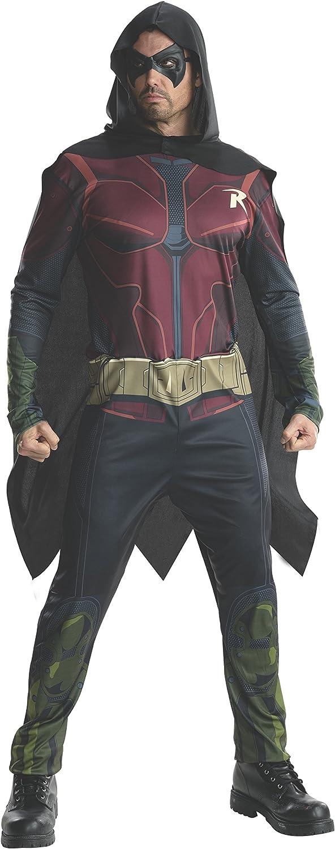 Rubie's Max 65% OFF Men's Batman: Arkham Robin Costume Luxury City Adult