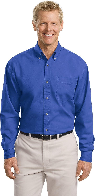 ; Port Authority; Tall Long Sleeve Twill Shirt. TLS600T-simple