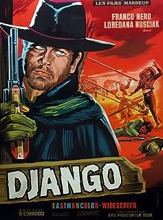 Posterazzi Django from Left On French Art: Franco Nero Loredana Nusciak (Tied to Poles) 1966 Movie Masterprint Poster Print (24 x 36)