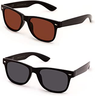 V.W.E Classic Outdoor Reading Sunglasses – Comfortable Stylish Simple Readers Rx..