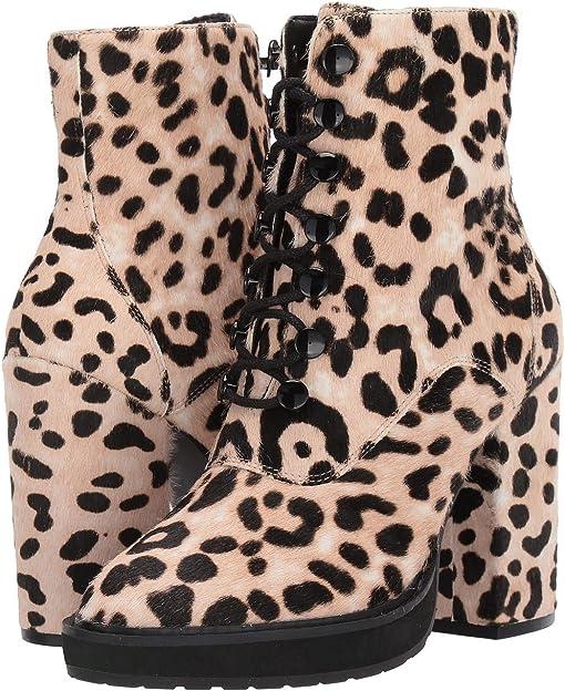 White/Black/Leopard Print Haircalf