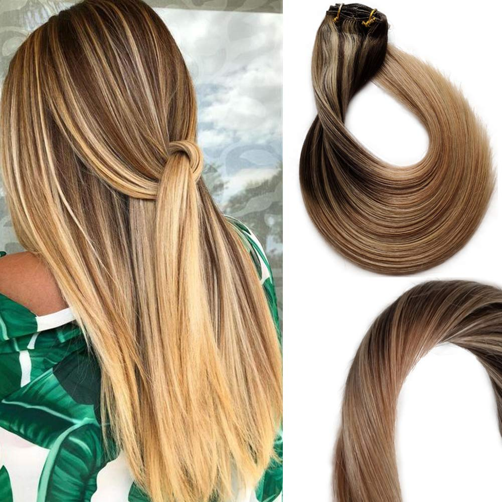 120g Clip In Hair Extensions Luxury Brazilian Baltimore Mall Ha Human Virgin Real
