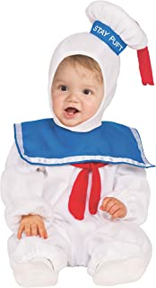 Baby Classic Ghostbusters Ez-on Stay Puft Romper Costume