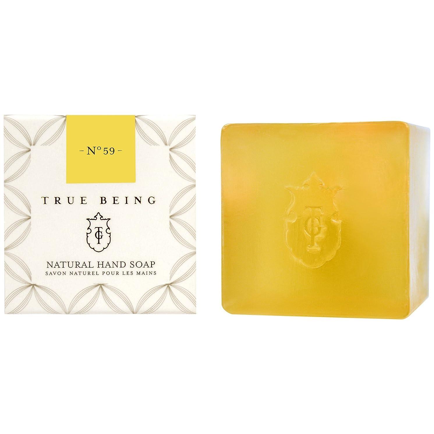 フルーツ美しい満足させる真であることベルガモット大石鹸 (True Being) - True Being Bergamot Large Soap [並行輸入品]