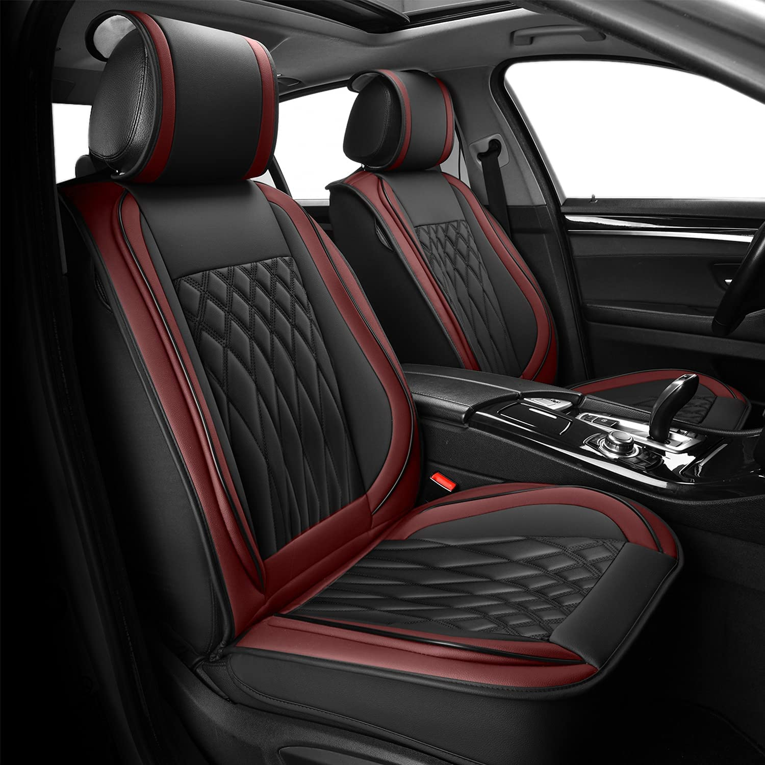 Sunny color Universal Miami Mall Leather Car Full Cheap bargain Seat Set Covers