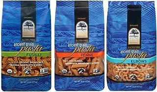 truRoots Organic Ancient Grain Pasta 3 Shape Variety Bundle: (1) truRoots Fusilli Pasta, (1) truRoots Penne Pasta, and (1) truRoots Elbow Pasta, 8 Oz. Ea.