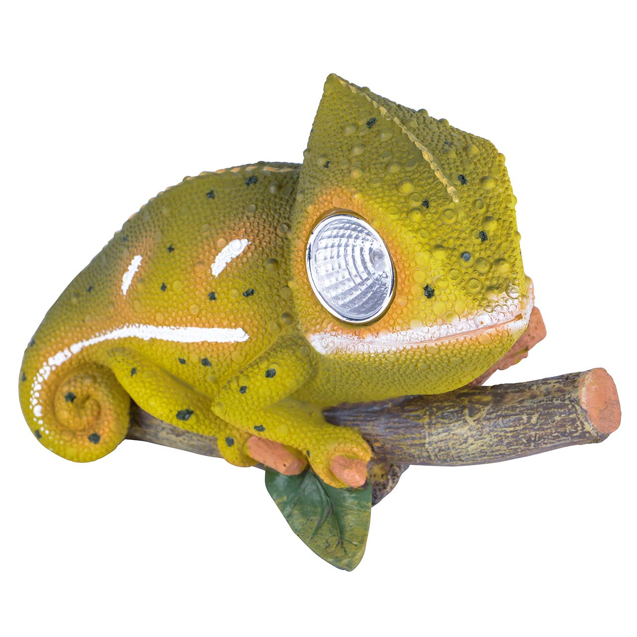 RM E-Commerce - Figura de camaleón con iluminación solar: Amazon.es: Hogar