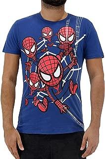 X Marvel Spider-Man Spidey Chaos Men's T-Shirt