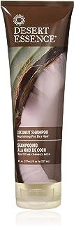 Desert Essence Coconut Shampoo - 8 Fl Ounce - Pack of 3 - Intense Moisturization - Healthy Hair - Restores Natural Luster ...