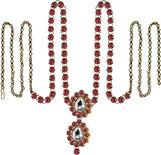 Vidhya Kangan Belly Chains for Women (Pink) (bro366)