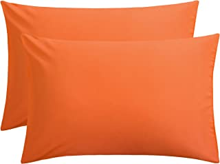 orange pillow cases walmart