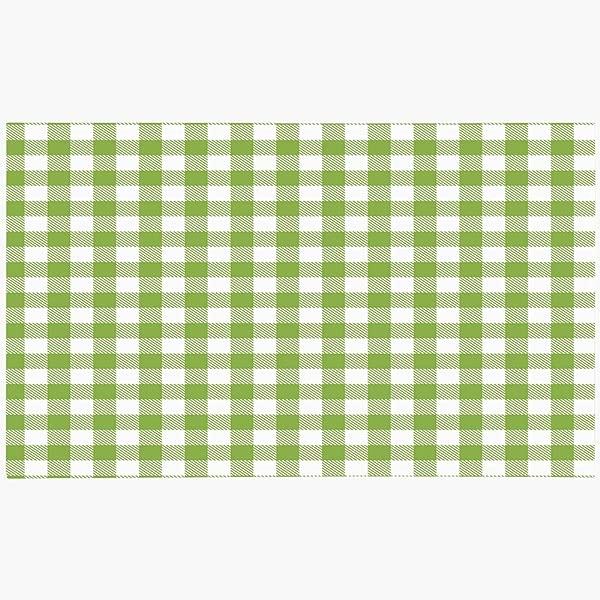 Ahawoso Doormat Door Mat 16x24 Cross Stripe Green Gingham Buffalo Check Plaid Beauty Pattern Abstract Cloth Casual Checkered Classic Machine Washable Non Slip Mats Bathroom Kitchen Decor Area Rug
