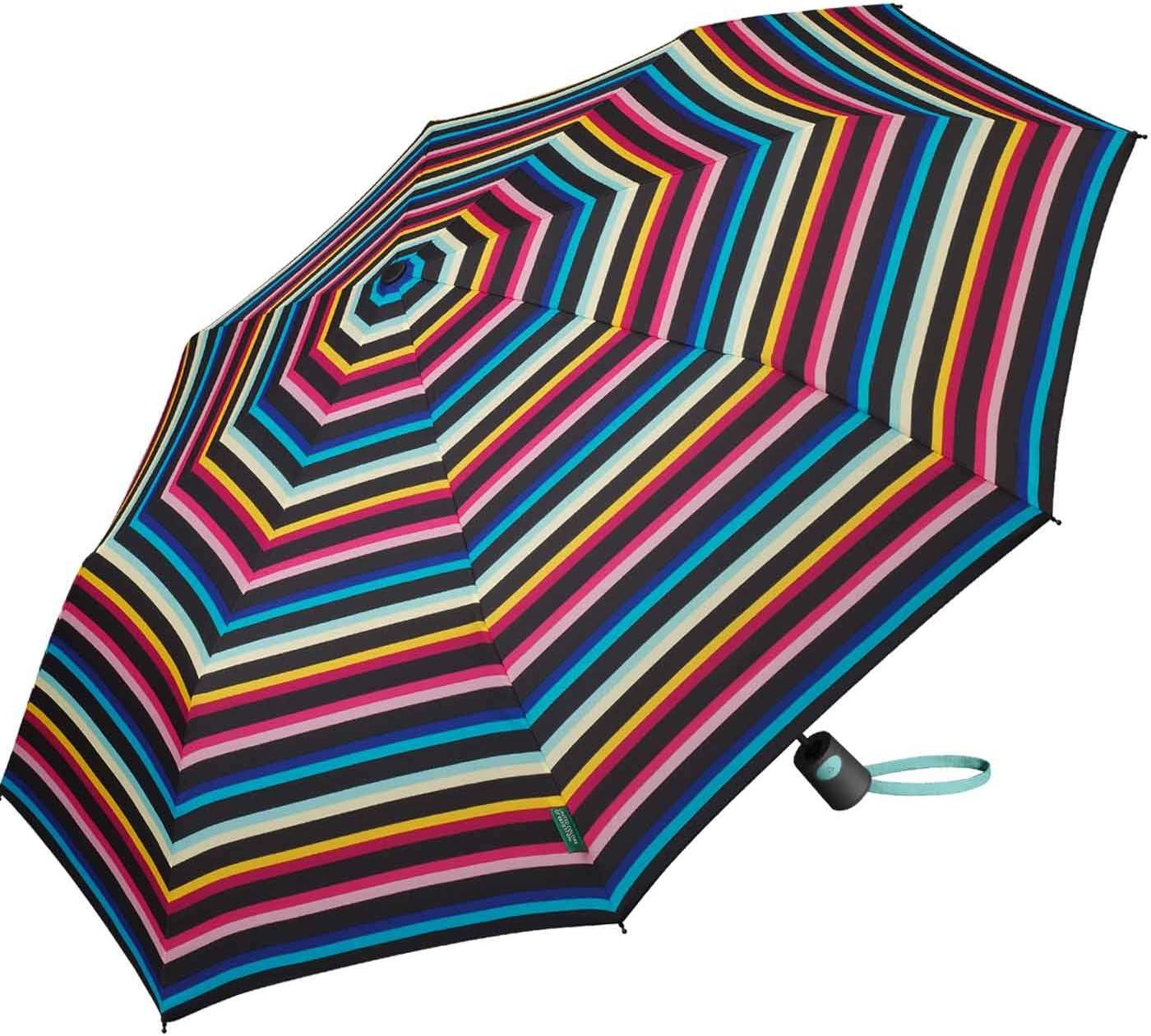 - 56427 OLIVENIGHT Green Khaki Green United Colors of Benetton Ultra Mini Female Manual Umbrella 88cm Diameter