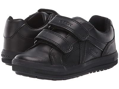 Geox Kids Jr Arzach 18 (Little Kid) (Black Oxford) Boys Shoes