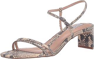 STEVEN by Steve Madden Women's Oceana Heeled Sandal, Natural Multi, 7 M US