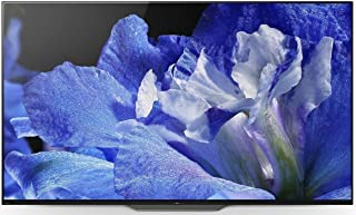 Sony 65 Inch OLED 4K Ultra HD Smart TV, Black - KD-65A8F