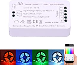 ZigBee RGBW Strip Light Switch Controller for Amazon Echo Plus ZigBee Bridge Hub Alexa Voice Control Smart Phone APP Contr...