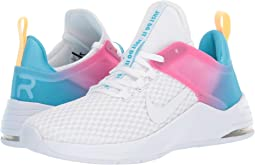 new arrival de6f6 0d9ed Nike. Air Max Bella TR 2.  80.00. 5Rated 5 stars. White White Blue  Fury Laser Fuchsia