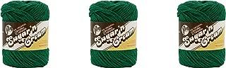 LILY Sugar 'n Cream-Pack of 3-70.9g Each Ball-Dark Pine