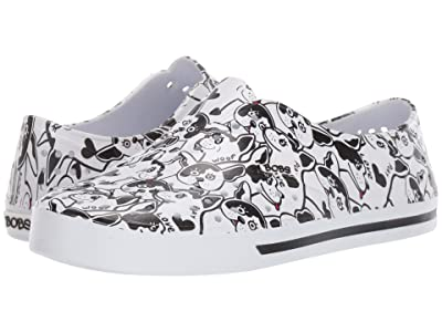 BOBS from SKECHERS Aquamenace (White/Black/Red) Women